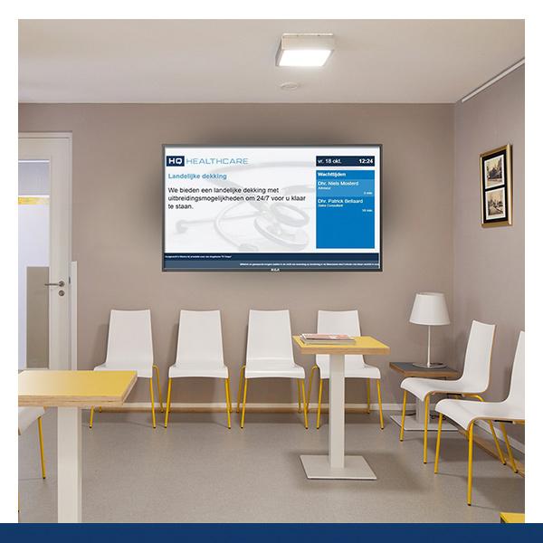 Zorg Narrowcasting HQ Healthcare